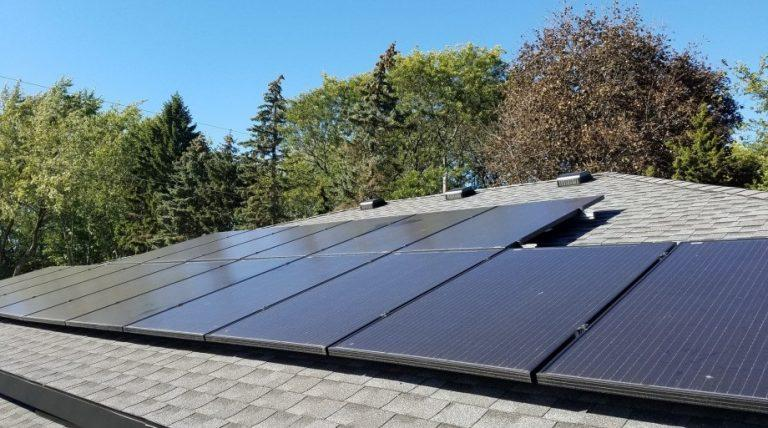 What does it mean to have a hybrid solar system in your home?