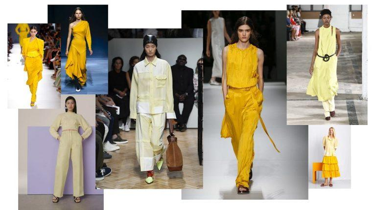 Vibrant, confidence-building shades capture Fall 2019 fashion trends
