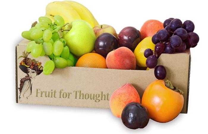 Fruit basket gifts of UK