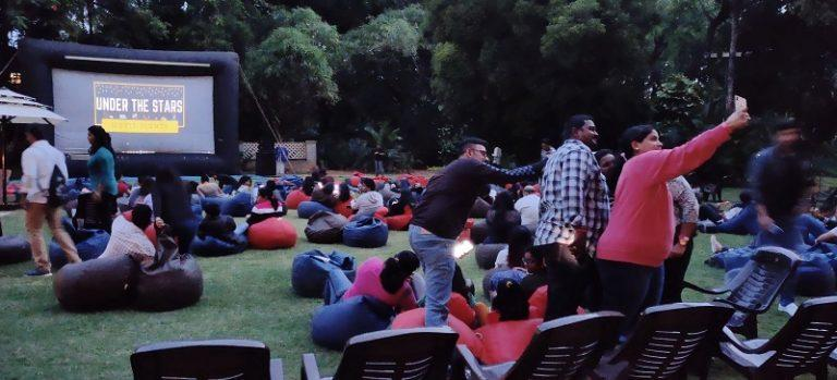 How to hire an open air film rental company?