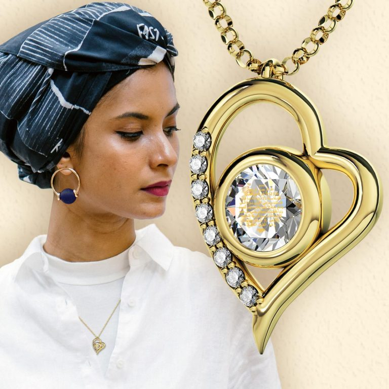Gift gold Islamic Jewelry to your Dear Ones