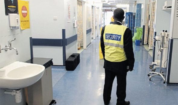 SECURITY IN THE HEALTH SECTOR FOR STAFF AND ASSETS
